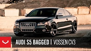 Audi S5 Bagged on 20