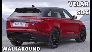 Range Rover Velar SD6 Diesel (2018) Walkaround