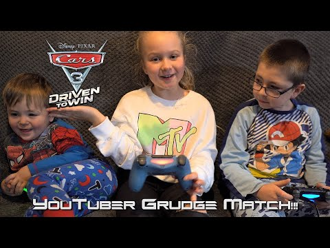 Ryder Takes On 2 Other YouTubers In Cars 3 Driven To Win