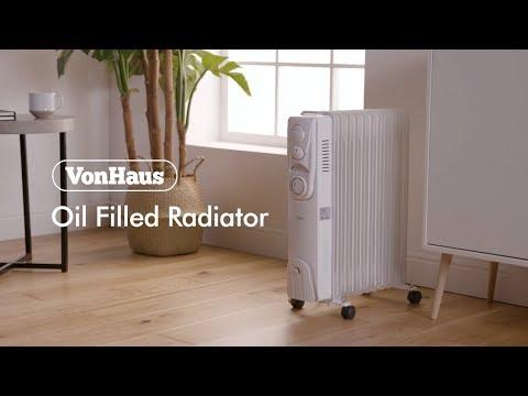 VonHaus 11 Fin 2500W Oil Filled Radiator