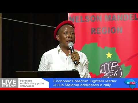 Julius Malema calls Zuma, by makhandakhandanda in Nelson Mandela Bay