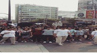 대한민국 광복 70주년 기념 뮤지컬 플래시몹 '영웅' / 70th's Independence day of Korea musical flash mob