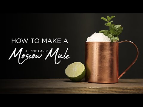 "How to Make a ""Skinny"" Moscow Mule"