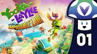 [Vinesauce] Vinny - Yooka-Laylee and the Impossible Lair (PART 1)