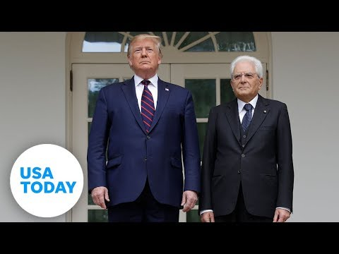 President Trump holds joint press conference with Italy's president | USA TODAY
