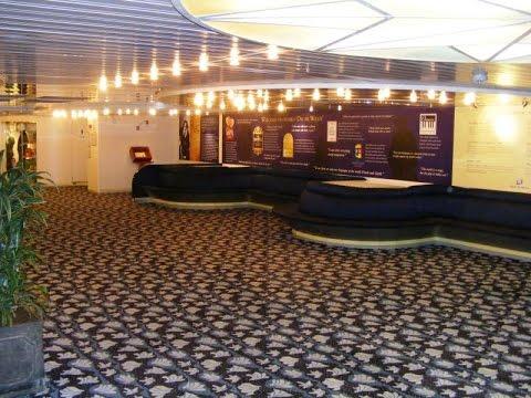 Oscar Wilde Luxury irish ferry - Ireland-France - inside