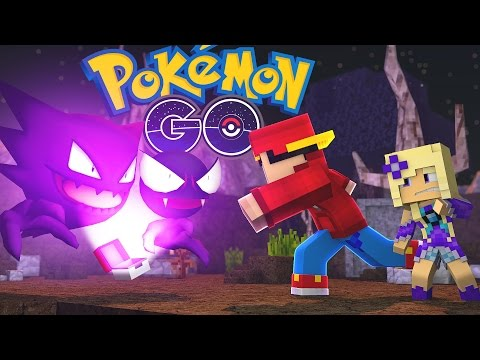 Minecraft Pokemon Go - NIGHT TIME ADVENTURE FOR SPOOKY POKEMON!!
