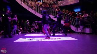 Team USA vs Team France   World Crew Battle @Dance Festival Paris-Berlin 2016