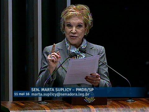 Marta Suplicy diz que gestão de Dilma comprometeu irresponsavelmente as finanças públicas