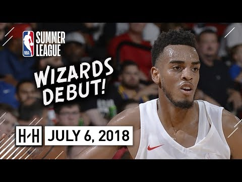 Troy Brown Jr Full Wizards Debut Highlights vs Cavaliers (2018.07.06) Summer League - 13 Pts, 4 Reb