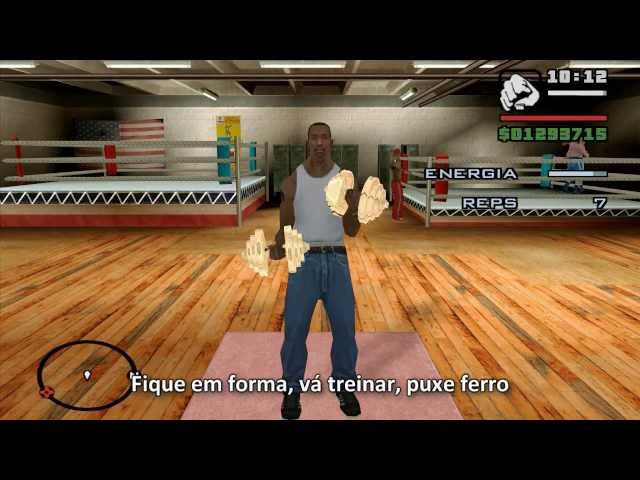 Rap do GTA San Andreas - CJ cantando [Legendado] Vídeos De Viagens