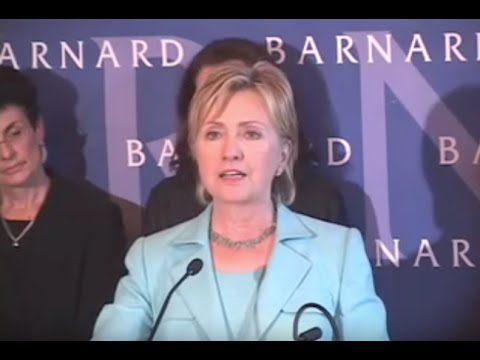 Hillary Clinton on Pay Equity