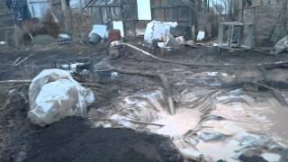 Бурение скважины самодельной установкой.Видео 3.(Учимся бурить.За 4 часа пробурили 19 метров,последние 4,5 метра бурим по песчаннику,буровое долото самодельно..., 2016-02-12T22:16:22.000Z)