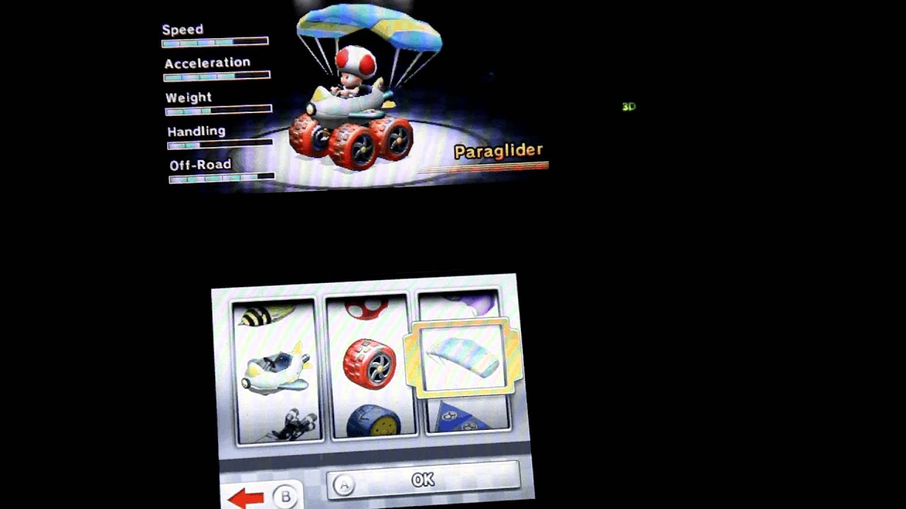 Mario Kart 7 Best Kart Explained Youtube