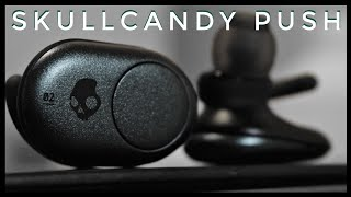 The Skullcandy Push True Wireless Earbuds are the first entry by Sk...