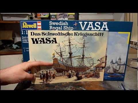 "Kit review: Revell Swedish Regal ship ""Wasa"" in 1/150 scale"