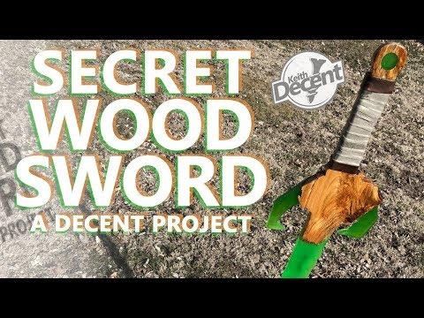 """SECRET"" WOOD + EPOXY SWORD - a Decent Project"