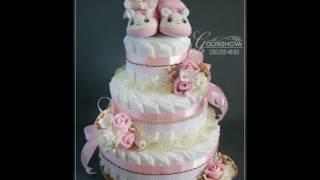 видео торт из памперсов