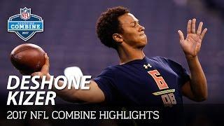 DeShone Kizer (Notre Dame, QB)   2017 NFL Combine Highlights
