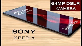 Xperia 2019 Sony Xperia Zoom 2019 With 64MP Camera And 5000 Mah Battery