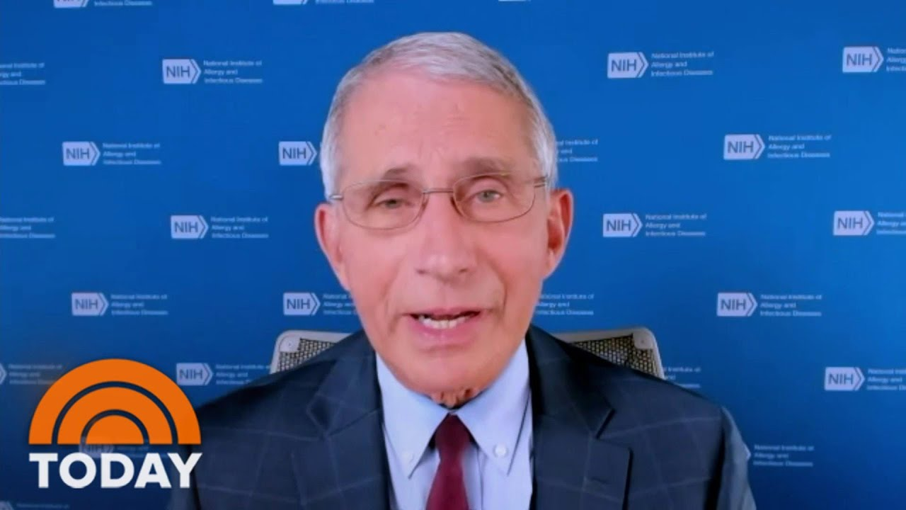 Dr. Fauci Disagrees With Trump, Says Normal Life May Not Return Until 'Well Into 2021' | TODAY