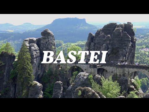 Beautiful Places on Earth | BASTEI, Elbsandsteingebirge, Germany | 4K