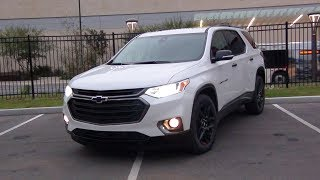 2018 Chevrolet Traverse Redline Edition Auto Show Test Drive - Nexccelerator