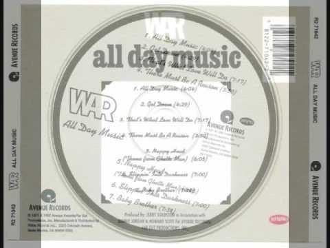 War – All Day Music