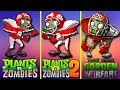 Plants vs Zombies | How Zombies have changed | Evolution of PvZ (Plantas contra Zombies)