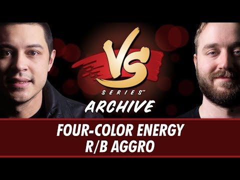 9/14/2017 - Tom VS Ross: Four-Color Energy VS R/B Aggro [Standard]