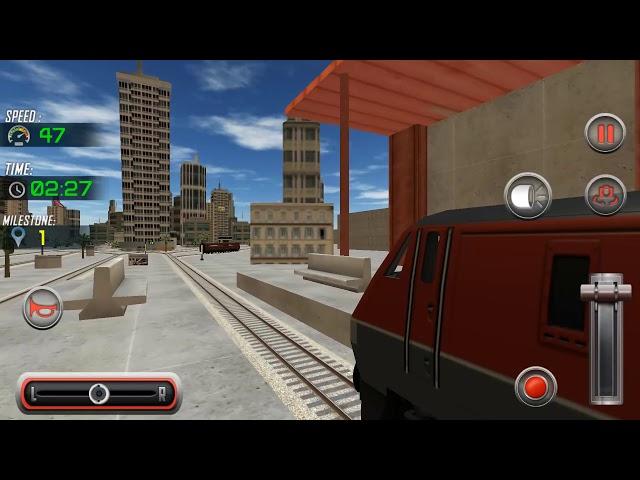 City Train Driving Adventure Simulator