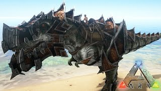 SUPER ARMADURAS DE T-REX!! INCREÍBLE MOD - ARK: Survival Evolved