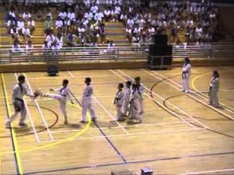 Olympics Day Run 2002 - Kicking