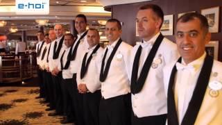 Crystal Symphony - ein Grand Hotel auf den Weltmeeren