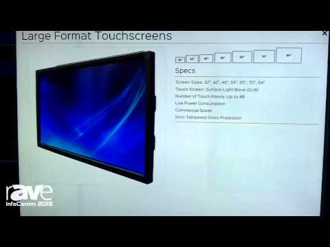 InfoComm 2015: GVision Exhibits 84-Inch Large Format Touchscreen with Surface Light Wave Technology