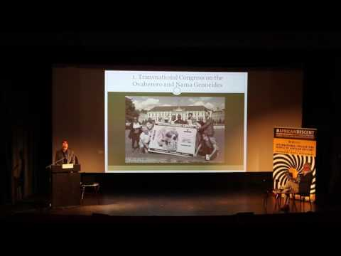 [#1]Ovaherero and Nama Genocide Congress in Berlin 2016: Israel Kaunatjike and Christian Kopp