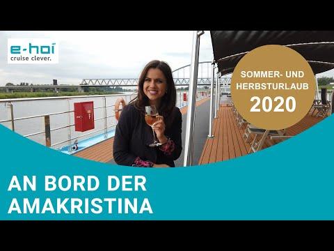 e-hoi an Bord der AmaKristina - Flusskreuzfahrt unter Hygiene- & Sicherheitsmaßnahmen