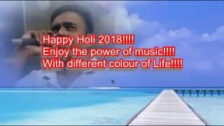 Rang barse bheege chunerwali Rang barse Karaoke by rajesh Gupta