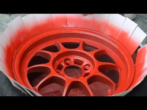 YMD Channel : lanch spray paint สเปรย์พ่นล้อแม็กซ์