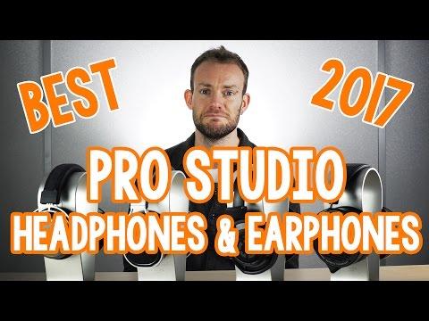 Best Pro Studio Headphones and Earphones to buy in 2017