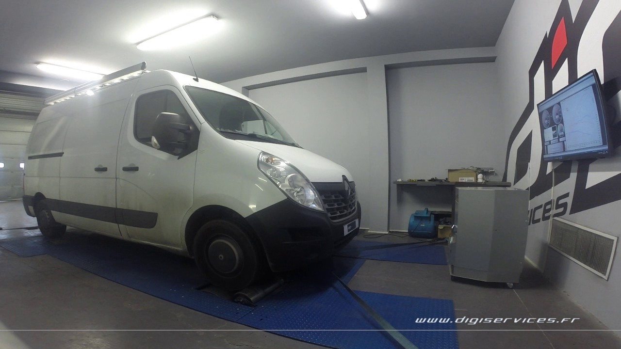renault master 2 3 dci 135cv reprogrammation moteur 212cv digiservices paris 77 dyno youtube. Black Bedroom Furniture Sets. Home Design Ideas