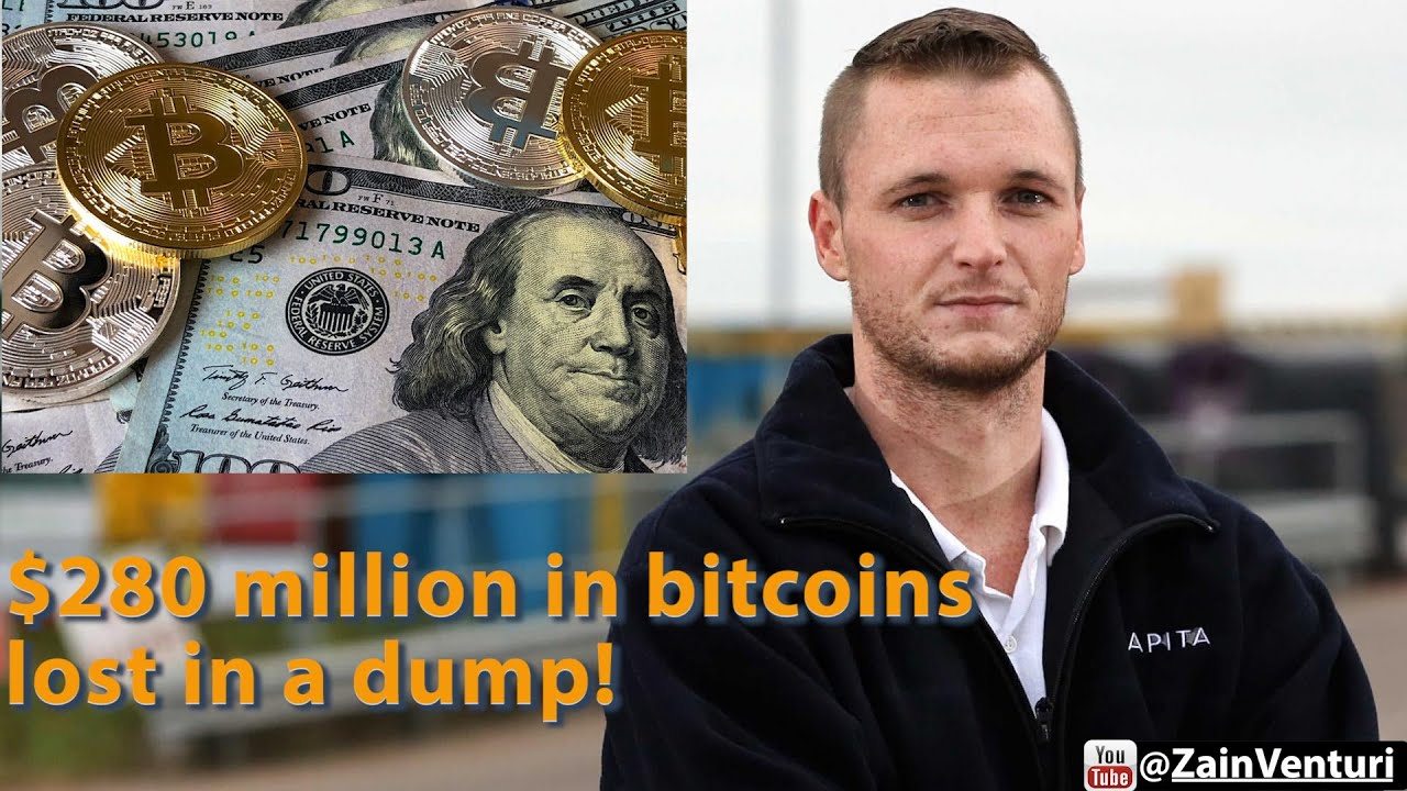 Bitcoins worth millions lost in landfill pictures liam foley sportsbettingstar