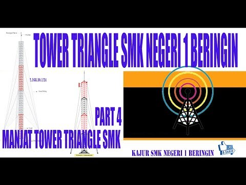 Tutorial Memanjat Tower Tri Angle Man Version
