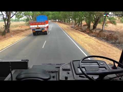 Thrilling Crew Cabin Ride on KSRTC's TATA Motors Rajahamsa