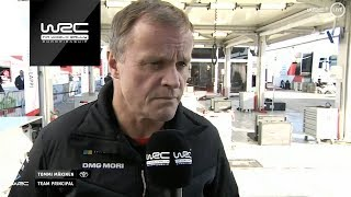 WRC - Dayinsure Wales Rally GB 2018: INTERVIEW Tommi Mäkinen