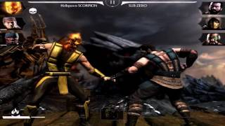 All Diamond Characters Review! Mortal Kombat X 1.9! IOS/Android