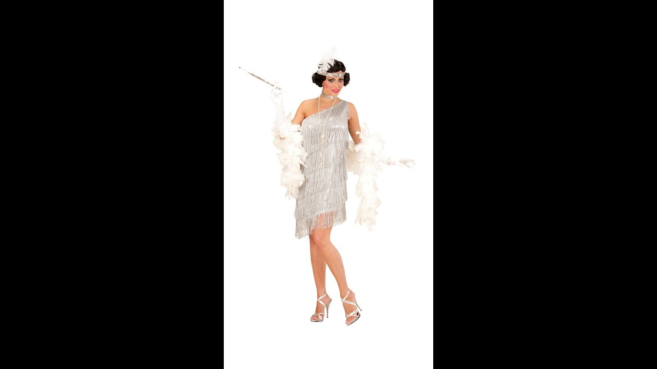 d66bd085fd Legkeresettebb Webáruház - Ezüst charleston ruha női jelmez
