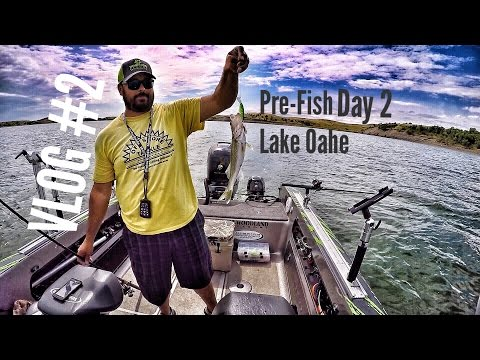 VLOG #2 Walleye, Catfish, Pre-Fish For The Cabelas National Walleye Tour Championship On Lake Oahe