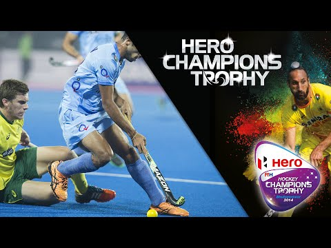 Australia Vs India - Men's Hockey Champions Trophy 2014 India 3th/4th Place [14/12/2014]