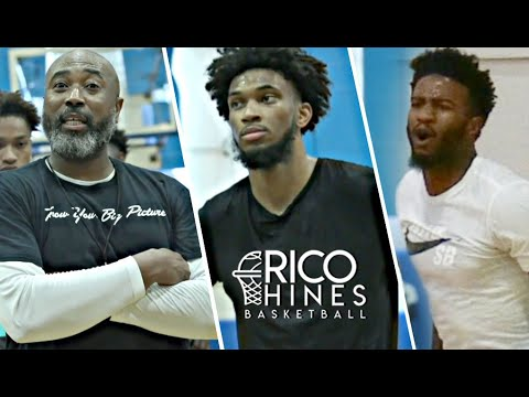 Marvin Bagley, Jordan Bell, + MORE at Rico Hines Private Run